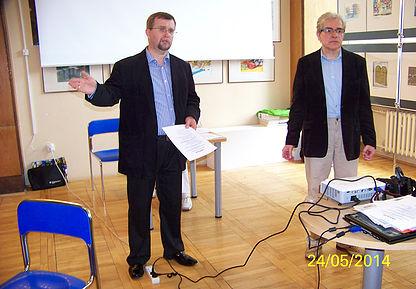 Wojciech Wilski i Joachim Arciszewski